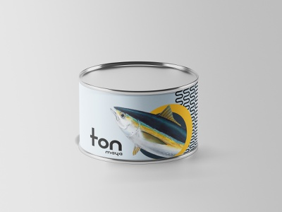 Maya - Tuna Packaging identity designer identity logos minimal packaging logo identity design font design design branding