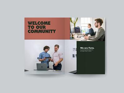 Fixta - Brand Book (P2-3) advertising graphicdesign coffee typography identity design logo packaging font design branding