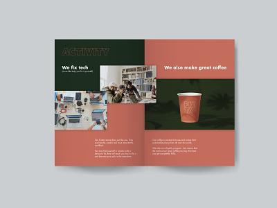 Fixta - Brand Book (P4-5) brand design package graphicdesign advertising typography design logo packaging font design branding