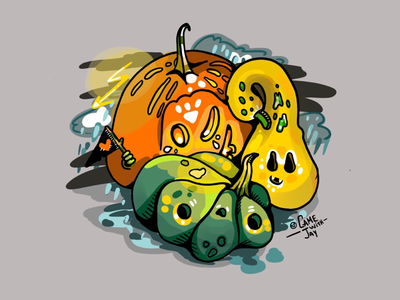 Pumpkin spooks
