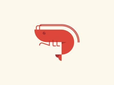 Bubba  google unchosen crustacean geometric illustration shrimp