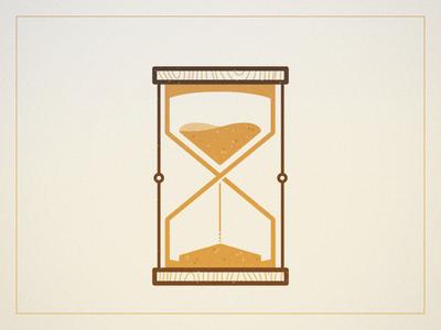 Glass o' Sand sand icon time glass hour
