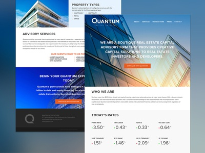 Quantum Website cb rates ui site web q firm estate real website