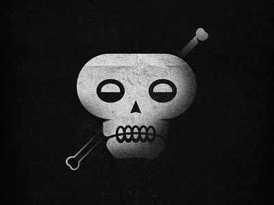 Skull-tastic illustration skeleton skull halloween