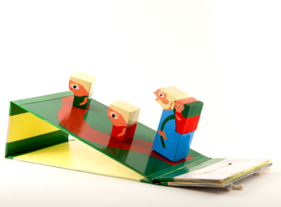 TOTLE family toys retro concept product nesting toy wood toy design children illustration children design