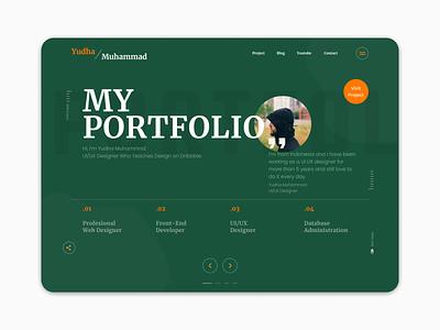 Awesome Portfolio awesome design awesome uidesign ui portfolio website portfolio design portfolio page portfolio