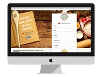 Tabasco – Newsletter campaign landing page