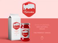 Nutrichia Logo and Branding Design