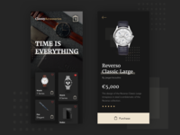 Time is Everything App UI