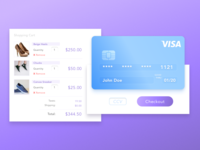DailyUI #002—Credit Card Checkout