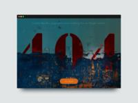 DailyUI #008—404 Page