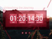 DailyUI #014—Countdown Timer