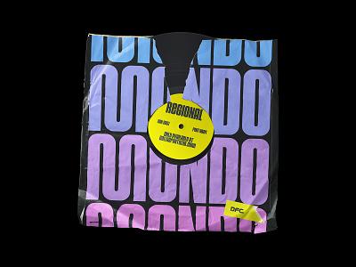 DFC 0024 - Regional - Vinyl Sleeve Mockup sleeve record vinyl vector logo branding design lettering fonts font typography type