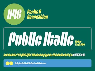 DFC 0027 - Public Italic - Font Release ux