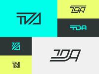 TDA Monogram Logos
