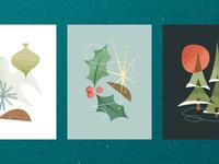 Charlie Kitsch Christmas Cards