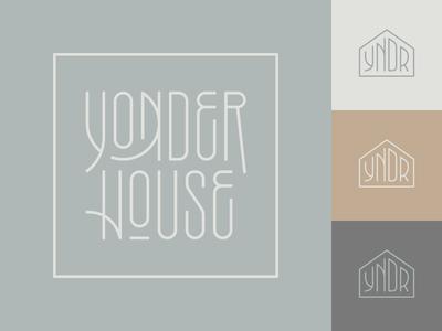 Yonder House Branding