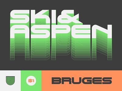 UTC Bruges Font type typography lettering fonts letterforms headline headline fonts type foundry website custom type design