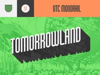 UTC Monorail Font