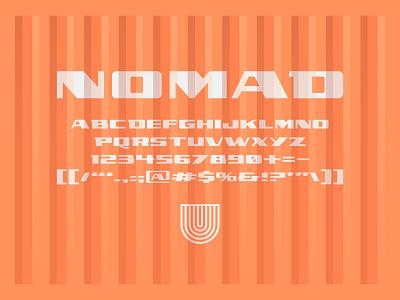 UTC Nomad Font type typography lettering fonts letterforms headline headline fonts type foundry website custom type design