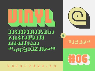 UTC Vinyl Font type design custom website type foundry headline fonts headline letterforms fonts lettering typography type
