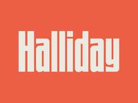 UTC Halliday Font WIP