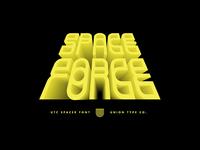 UTC Spacer Font