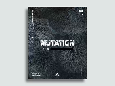 Artinvader Project 155 motion artinvader poster animation video motiondesign fur loop octane cinema4d blender modernart adobe c4dart c4d artwork art 3d