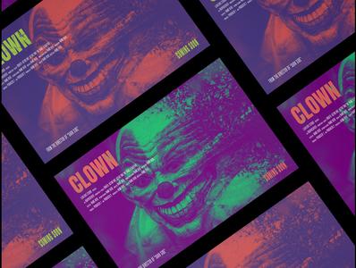 horror movie poster clown horror movie poster movie poster