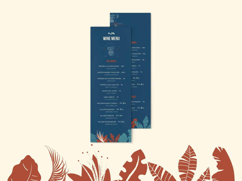 bar menu design alcool drinks monkey bar menu menu bar
