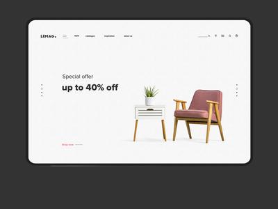 furniture website design furniture website