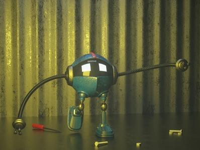 3d robot 3d robot character avatar 3dcharacter 3d design cinema4d
