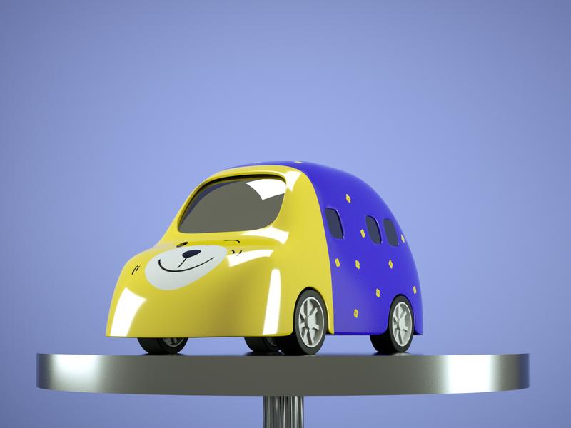 toy car #1 3d cinema4d toycar 3dcar