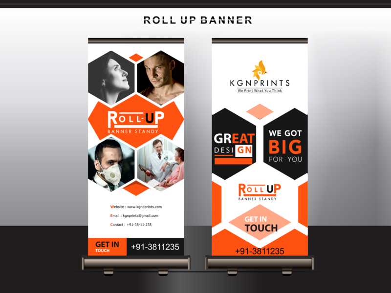 Roll-up Banner Creative love doctor covidwarriors covid19 branding design asia digital ux branding vector graphicdesign advertising illustration signboard roll up banner rollupbanner