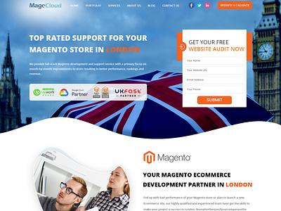 MAGECLOUD web design