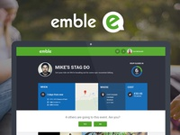 emble events run friends page
