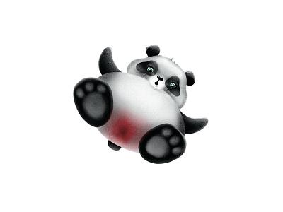 Panda Periods panda flo periods fun art character illustration panda bear pandadoc pandas