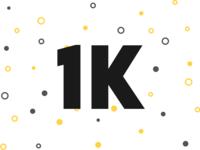 Confetti Plugin + 1K Followers video pattern mp4 confetti animation auto animate adobexd adobe