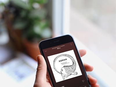 song cover design branding illustration