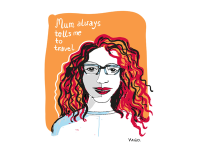 My mum good advice feminine femme fashion illustration illustrator mum