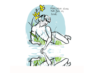 Narcissist person will never notice that has a problem illustrator illustration digital painting digital art