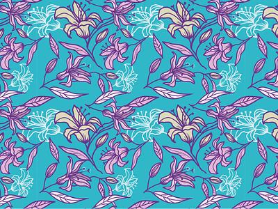 pattern lily patterndesign pattern