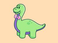 Polite Dinosaur