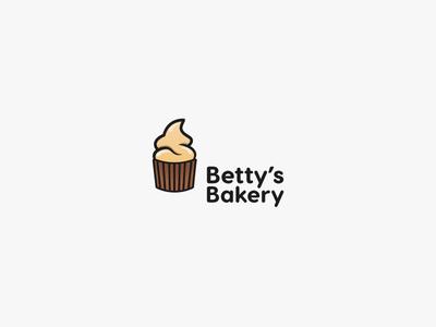 Cupcake logo - Daily Logo Challenge - Day 18