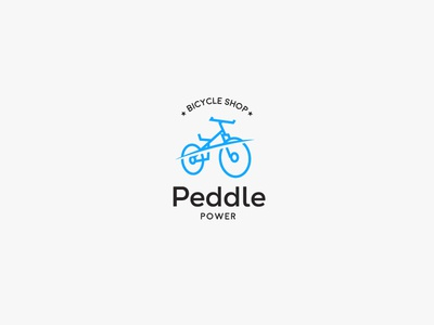 Bicycle logo - Daily Logo Challenge - Day 24