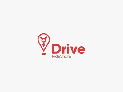 Rideshare Car Service logo - Daily Logo Challenge - Day 29