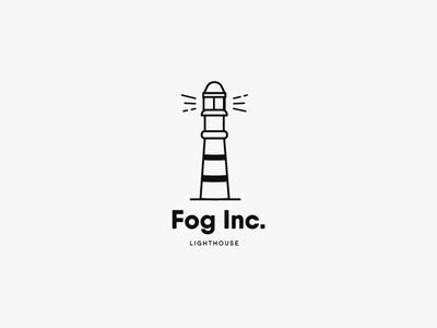 Lighthouse logo - Daily Logo Challenge - Day 31