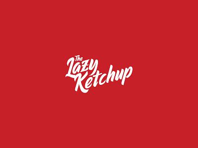 The Lazy Ketchup - Ketchup company logo brand logo logos art logodesign freelancers freelancedesign freelancer freelance logodesigner agency logo company branding company logo company brand logo packaging agency company ketchut