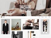 Noah - Tumblr Theme WIP