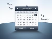 Admin Template - Datepicker